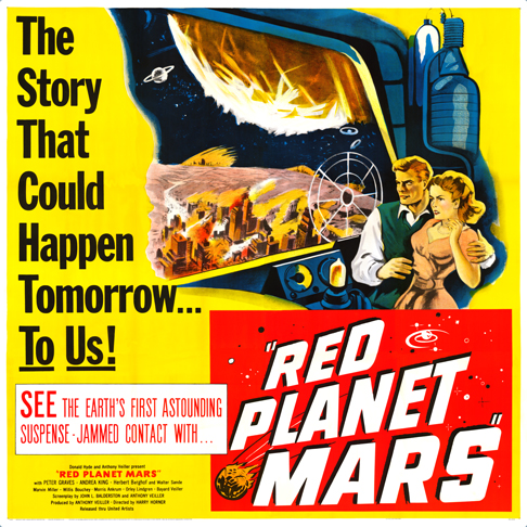 red planet mars 1954 - photo #12